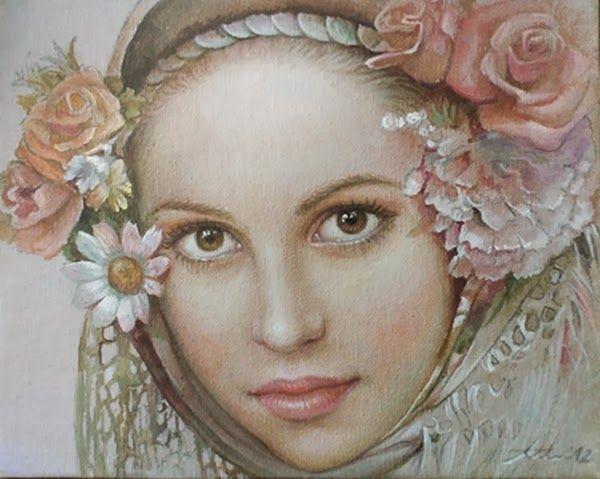 портреты художника Марины Илиевой - 05