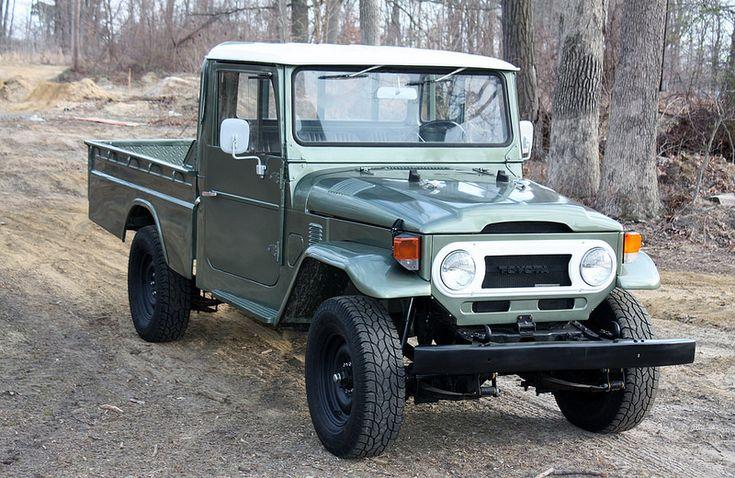 1975 Toyota HJ45 Pickup Safari Panels A | Land Cruiser Of ...