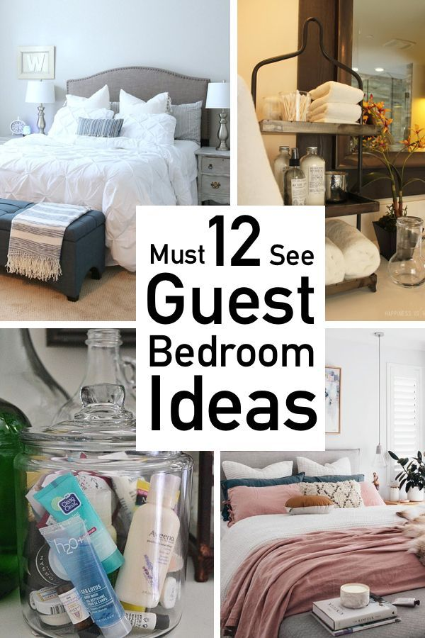 12 Cozy Inviting Guest Bedroom Ideas Small Guest Bedroom