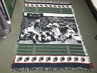 Vintage NFL Football Blanket (Colts vs. Steelers)