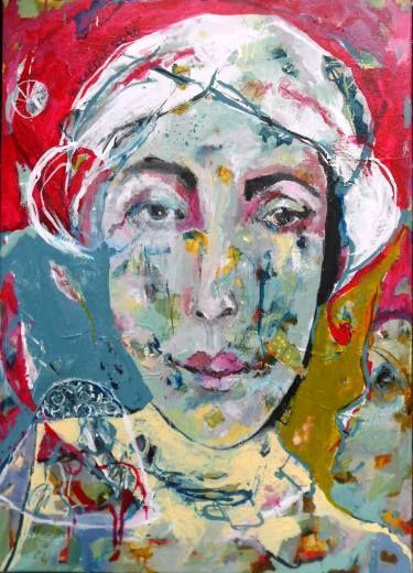"Saatchi Art Artist RENATA KACOVA; Painting, ""HARMONY"" #art"