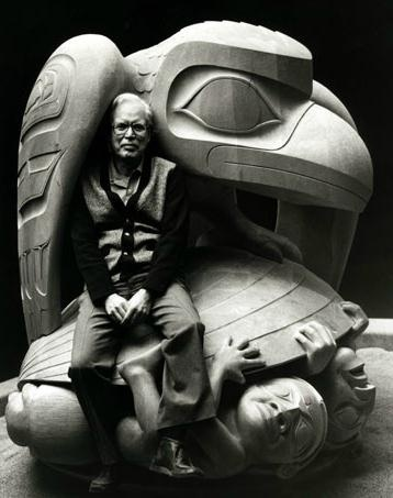 Bill Reid (1920 - 1998) & Skidegate Totem http://www.fineartpaintingtips.com/bill-reid-1920-1998-and-the-skidegate-totem/