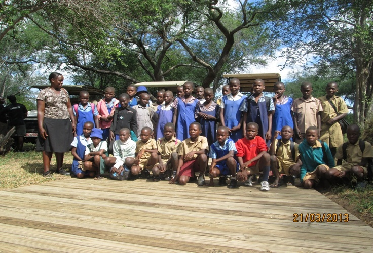 New arrivals at the recent CITW Ruckomechi camp