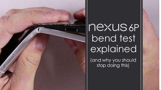 Does it bend? - Nexus 6P Bend Test Explained - UnlockUnit Blog