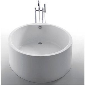 Baignoire ronde blanche retro design laguna deco informations compl mentaire - Petite baignoire ronde ...