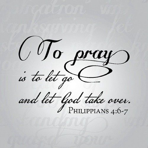 Pray Always.....
