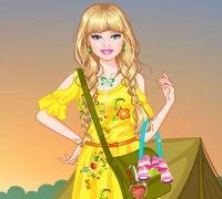 Prenses Barbie Kamp