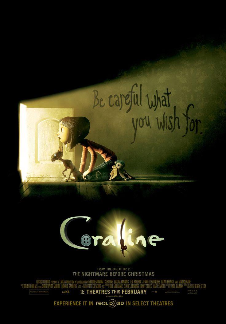 Love this movie ! Coraline