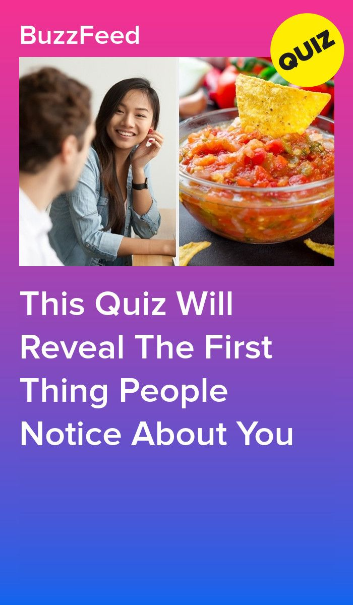 This Quiz Will Reveal The First Thing People Notice About
