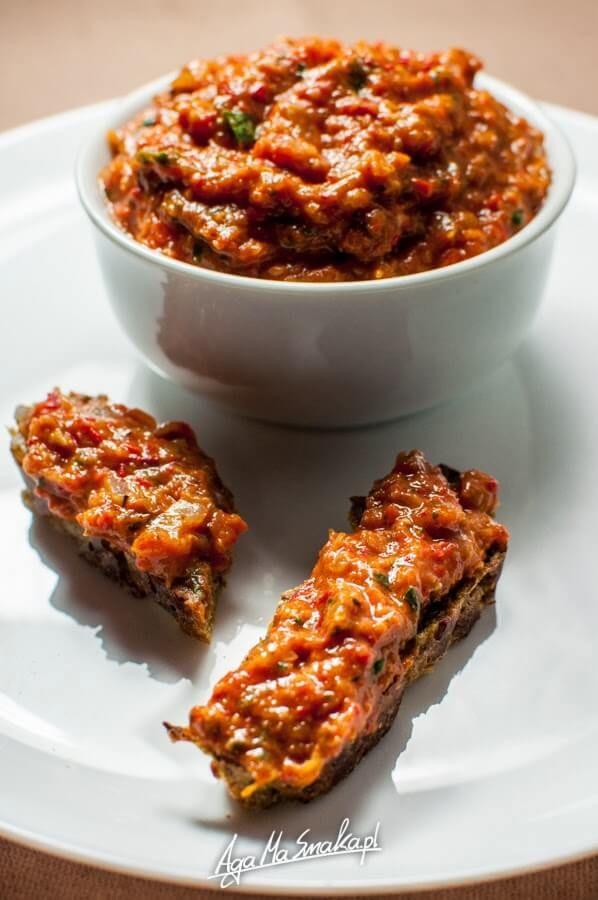 Jej aromatyczność pasta warzywna do chleba ⋆ AgaMaSmaka - żyj i jedz zdrowo!