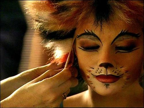 cats makeup broadway - Google Search