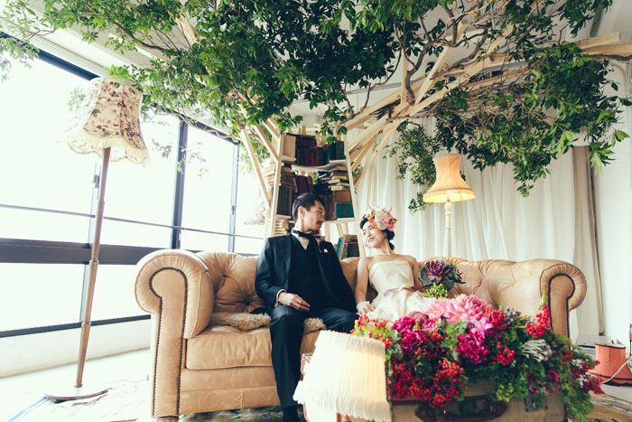 テーマウェディング事例:Little wedding on the planet|crazy wedding (クレイジー・ウェディング)