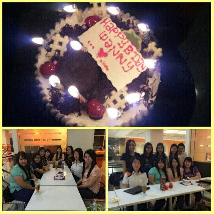 Wanny's birthday celebration surprise