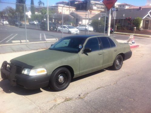 Purchase used 2000 Ford Crown Victoria Police Interceptor Highway ...