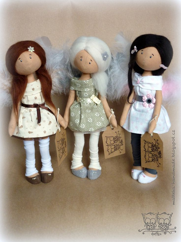 hand made by matteka: ♥angels♥