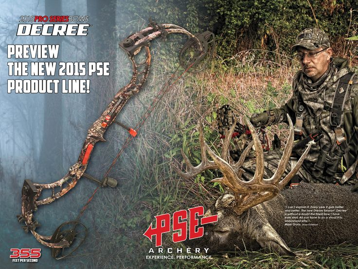 Just a little glimpse of the New for 2015 PSE Dream Season Decree Compound Bow!  #Can'tWaitToShootOne #EagleArchery #BowhuntingOnTheBrain