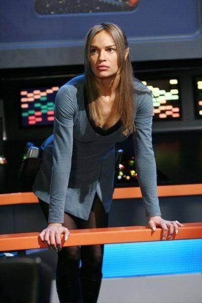 "Proving Just How HOT a Vulcan Can Really Be! - Mirror Universe T'Pol (Jolene Blalock) - Star Trek: Enterprise, S04E18-19: ""In A Mirror, Darkly, Parts 1 & II"""