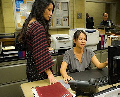 Lucy Liu and Samantha Quan in Elementary (2012)