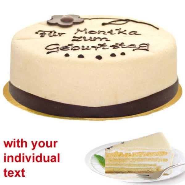 Marzipankuchen Kundengebundenertext Lubecker Nachtischmarzipankuchen Mit Einzelnem Text Kuchen Ideen Dessert Marzipan