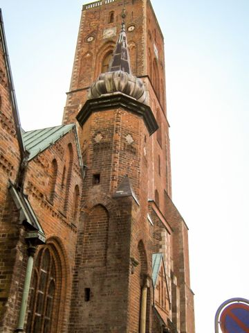 Ribe Cathedral is located in the city of Ribe in Jutland, Denmark.  The oldest surviving village in Denmark, Ribe is situated on a wind ...