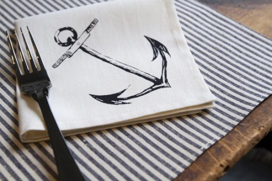 Rustic Maritime Wedding Decor » Love Notes Wedding Blog