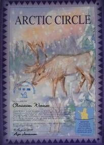 Certificat de la traversée du Cercle Polaire
