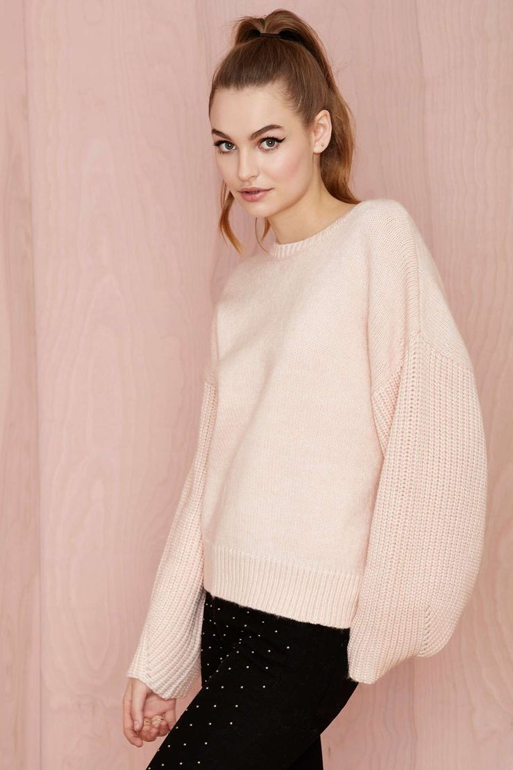 Nasty Gal Strawberry Fields Wool Crop Sweater | Shop Clothes at Nasty Gal
