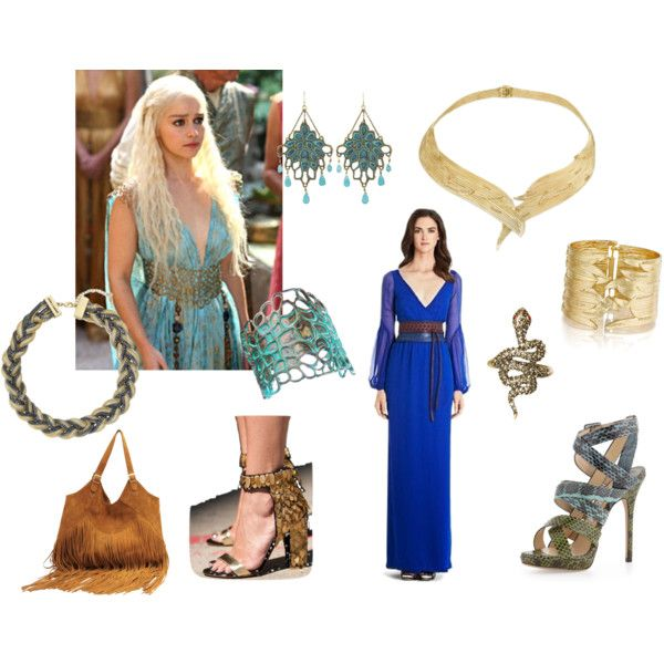 """Khaleesi by Chloe and Isabel"" by rachael-sawyer on Polyvore Click through to shop the look then join me on fb for style tips & inspiration at www.facebook.com/... #wedding #weddings #bride #bridal #jewelry #gifts #fashion #style #styleinspiration #Valentine #retro #vintage #boho #chic #accessories #spring #rose #nautical #vintage #blush #necklace #statementnecklace #earrings"