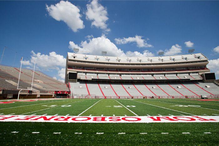 Memorial Stadium gets new field turf