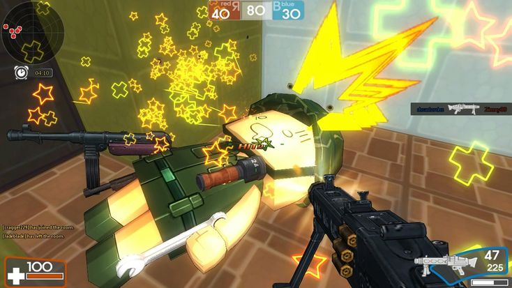 Brick Force (BrickForce) is an free to play, First Person Shooter (FPS) MMO Game featuring a build mode where you construct the maps you fight on.  http://mmoraw.com/index.php?option=com_content=article=341:brick-force=3:shooter-mmos=4