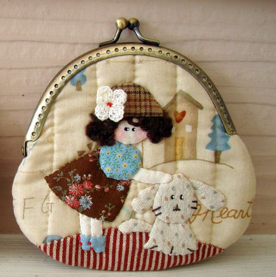 Marmalade: Applique purse