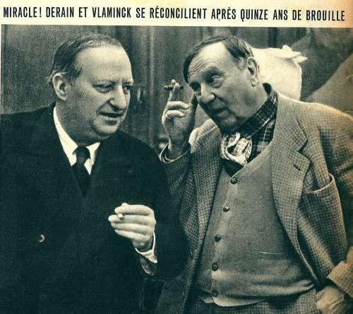 Maurice de Vlaminck (French, 1876-1958), et Andre Derain (French, 1880-1954)