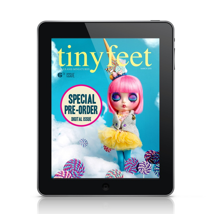 ISSUE nr.6 - Digital PRE ORDER by Tiny Feet Magazine