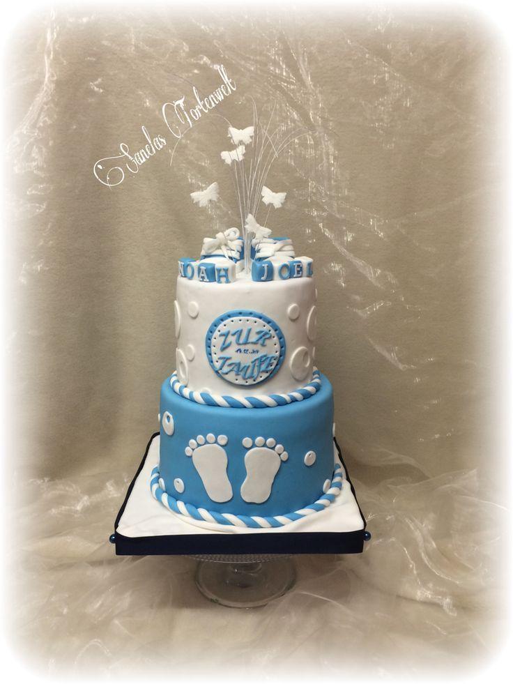 Baptism cake Tauftorte