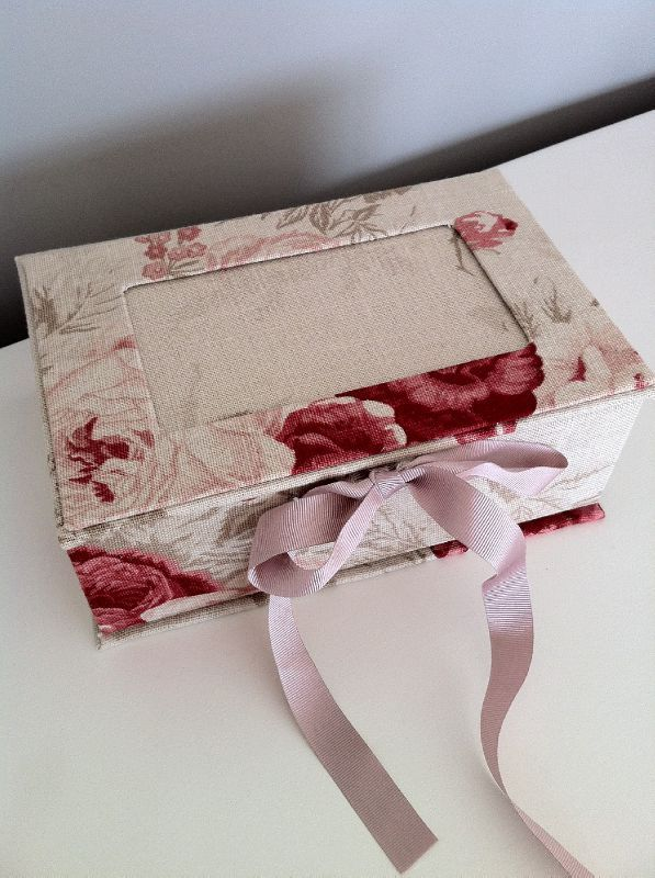 precious vintage rose collection box