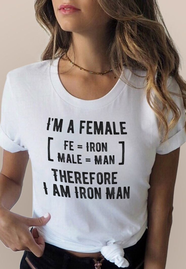 I Am A Female Shirt