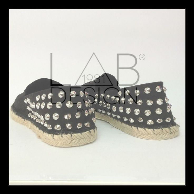 Espadrillas studded by labdesign