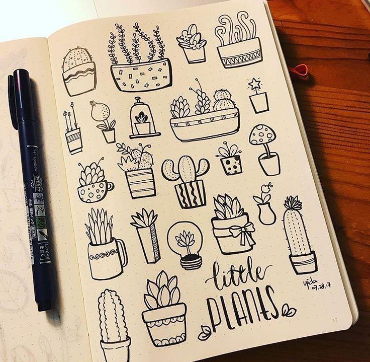 Мини рисунки для тетради