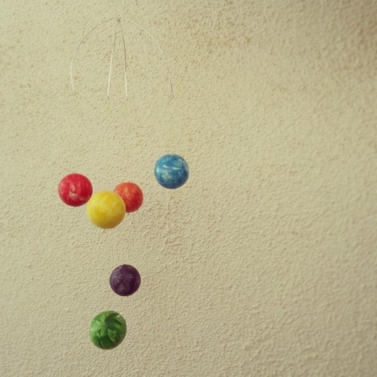 Mòbil. Planetes de colors