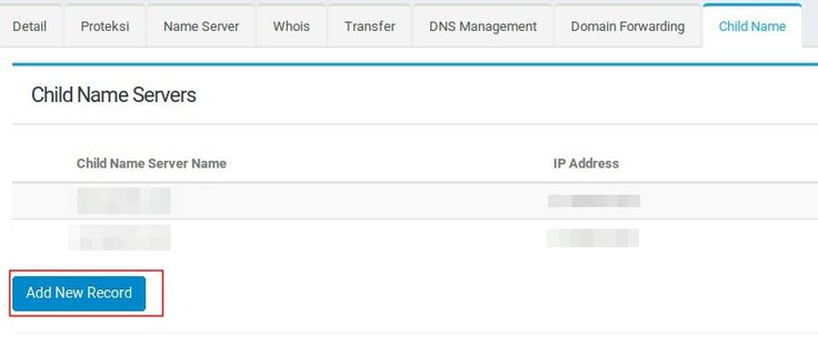 Cara Pointing Name server VPS | Andreas Blog's