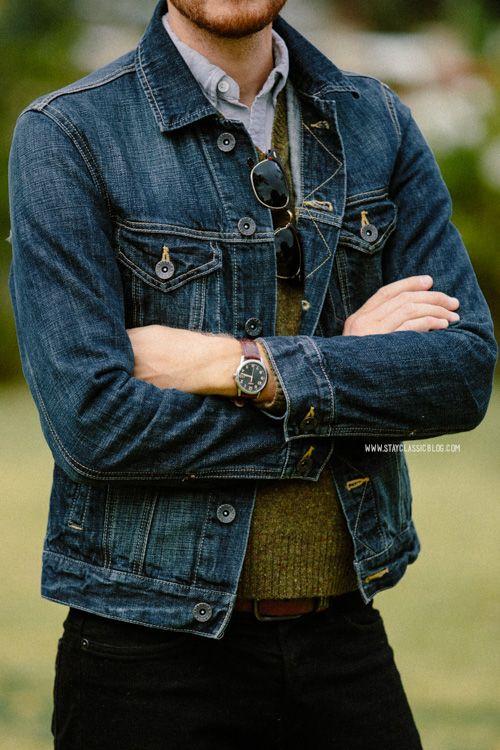 November 16, 2013. Jacket -American Eagle- $89Shirt: Rhodes Collar Oxford -BonobosSweater: Lambswool -Uniqlo- $20 (similar)Jeans: H&am...