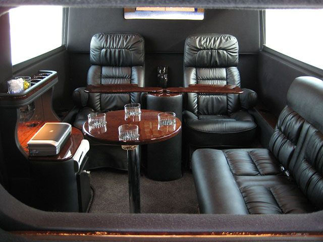 presidential limo interior sprinter president limousine interior can be ordered in any. Black Bedroom Furniture Sets. Home Design Ideas