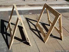Easy To Make Folding Saw Horses