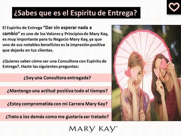 ¿Eres una Consultora con Espiritu de Entrega?