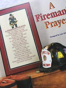 The Cross Stitcher Magazine August 2002 Firemans Prayer, Amish Sampler Stitch    eBay