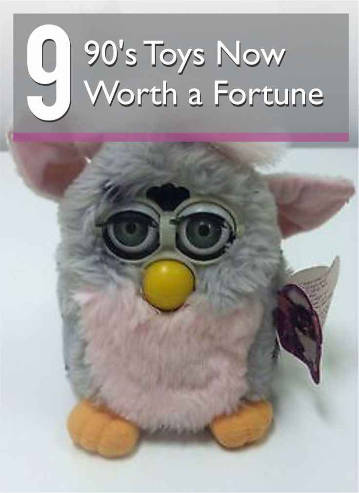 The '90s, dude. From Furbys to Beanie Babies, it was the decade of recurring collectible toy crazes. Guess what? While most toys are worth very little, several have soared into the hard-to-find, high-priced realm. Got an original Furby in your attic? Dig that creepy little fellow out and make some real dough. Hit up your relatives for golden '90s items like the first Girl Talk game or an original Tickle Me Elmo. Find out what other treasures make eBay's list or '90s toys now worth a fortune!