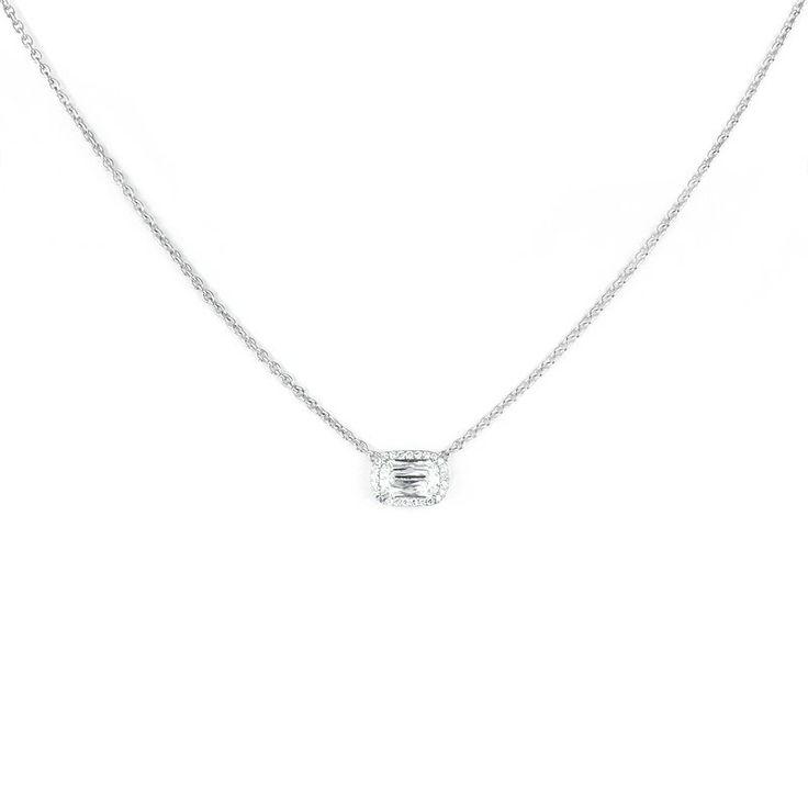 ASHOKA® Diamond Halo Necklace