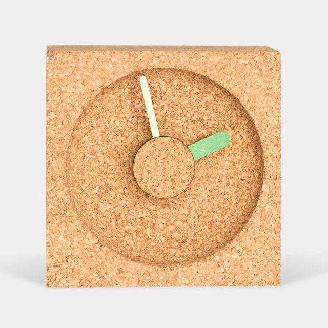 OClock: Wood & Cork Clocks by Okum Made wood design clocks