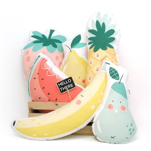 Fruit Pillows kids design www.grigrin.com