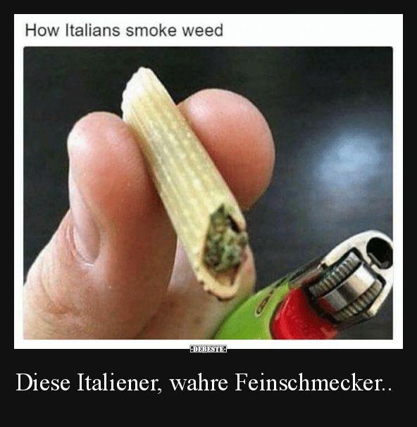 Diese Italiener, wahre Feinschmecker.. | Lustige Bilder, Sprüche, Witze, echt lustig